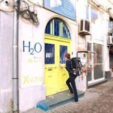 Perfil do usuário de H2O Hostel