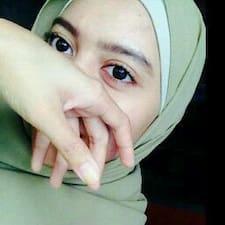Nuramirah felhasználói profilja