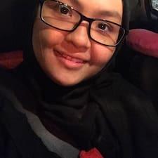 Nur Syarafina felhasználói profilja