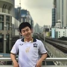 Taku felhasználói profilja