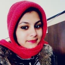 Profil utilisateur de Milisha