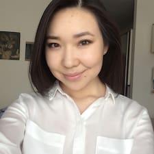 Kamilya felhasználói profilja