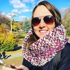 Kelsey felhasználói profilja