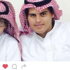 Saleh felhasználói profilja