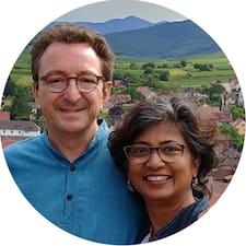 Gebruikersprofiel Ritu & Nicolas