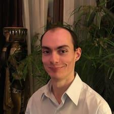 Perfil do utilizador de Grégory