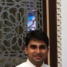 Perfil do utilizador de Vinay Kumar Reddy