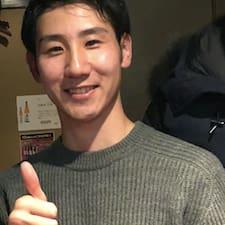 Yusuke felhasználói profilja
