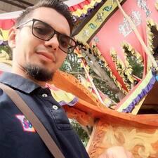 Henkilön Mohd Syafiq käyttäjäprofiili