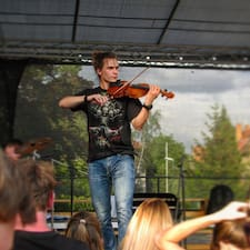 Kryštof felhasználói profilja