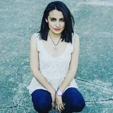 Mariale felhasználói profilja