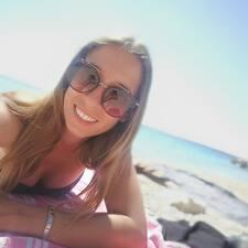 Katarina felhasználói profilja