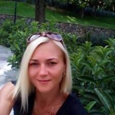 Nataliya felhasználói profilja
