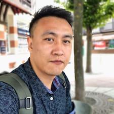 Henkilön Guo käyttäjäprofiili