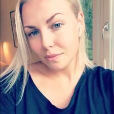 Amanda felhasználói profilja