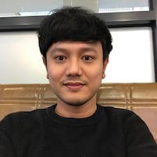 Chanathip felhasználói profilja