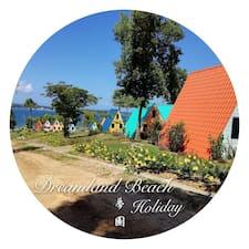 Dreamland felhasználói profilja