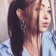 Laureline felhasználói profilja