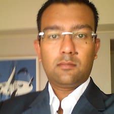 Mitesh felhasználói profilja