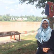 Gebruikersprofiel Siti Syuhadah