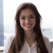 Melina felhasználói profilja