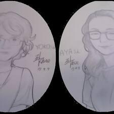 Aya & Yoko ist der Gastgeber.