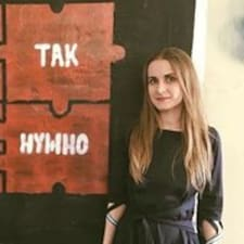 Profil utilisateur de Oleksandra