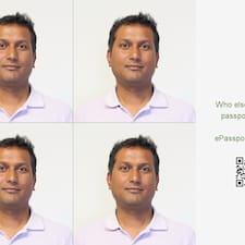 Ravi felhasználói profilja