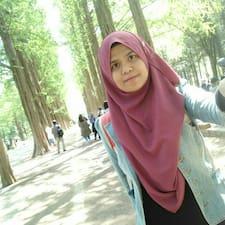 Användarprofil för Nur Amirah
