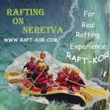 Henkilön Rafting Neretva käyttäjäprofiili