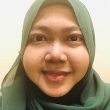 Profil utilisateur de Fariza