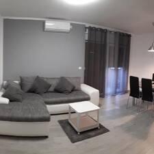 Apartment felhasználói profilja