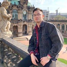 Henkilön Minh Dat käyttäjäprofiili