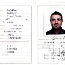 Lorenzo的用戶個人資料