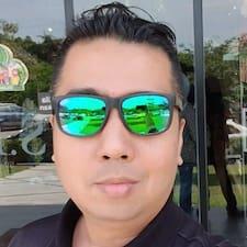 Faizal felhasználói profilja
