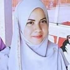 Zafirah felhasználói profilja