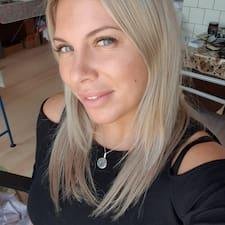 Henkilön Анастасия käyttäjäprofiili