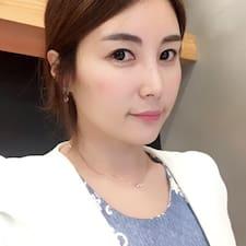 Jungmin felhasználói profilja