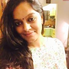 Perfil do utilizador de Sudha