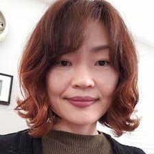 Edeline felhasználói profilja