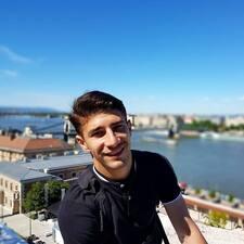 Andrej felhasználói profilja