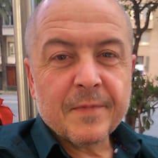 Simón felhasználói profilja