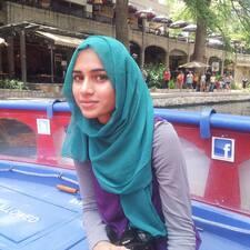 Zainub felhasználói profilja