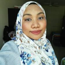 Nadiah - Uživatelský profil