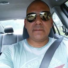 Juan felhasználói profilja