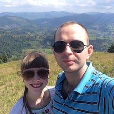 Solomiia & Andriy felhasználói profilja