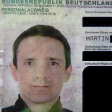 Henkilön Martin käyttäjäprofiili