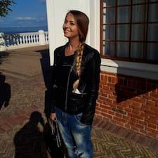 Henkilön Polina ( Полина) käyttäjäprofiili