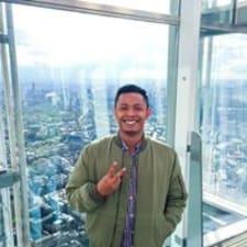 Khairul felhasználói profilja