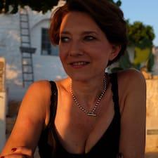 Henkilön Sarah käyttäjäprofiili